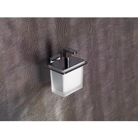 Flat Dosatore Di Sapone Liquido/Cromo Resina Bianco Capannoli-Capannoli G F-FL116_RB33-20