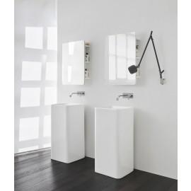 Semplice Free-Standing A Parete Lavabo 40X40X85H Colorato-Nic Design Srl-NIC.001_372-20