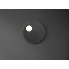 Specchio Shadow Tondo filo lucido su struttura inacciaio-Nic Design Srl-NIC.012_154-20