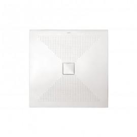 Piatto doccia Quadrato Plus-Ton Sferette 100x100 cm H3-Ceramica Althea-PP1010-20
