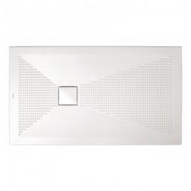 Piatto doccia rettangolare Plus-Ton Sferette 70x120cm H3-Ceramica Althea-PP712-20