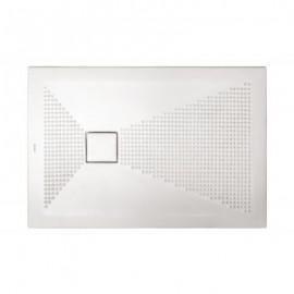 Piatto doccia rettangolare Plus-Ton Sferette 80X100 cm H3-Ceramica Althea-PP810-20