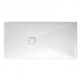 Piatto doccia rettangolare Plus-Ton Sferette 80X160 cm H3-Ceramica Althea-PP816-20