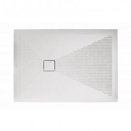 Piatto doccia rettangolare Plus-Ton Sferette 90X120 cm H3-Ceramica Althea-PP912-20