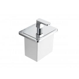 Strip Dosatore Di Sapone Liquido/Cromo Resina Bianco Capannoli-Capannoli G F-SX116_RB33-20
