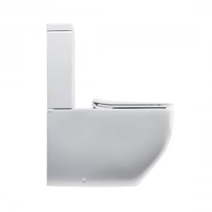 Vaso Monoblocco NoRim WHITE JAM Axa-3301301-20