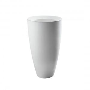 Lavabo Kracklite Freestanding Scarico Suolo Completo Di Sifone E Tubo Flessibile Di Scarico Ø46 DP Axa-8340001-20