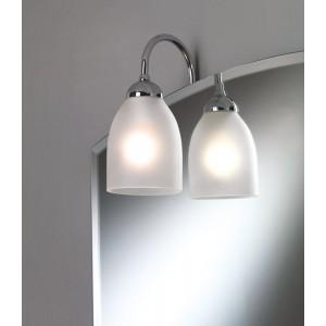 Illed Illuminazione A Telaio/Cromo Ip20 220V Max 40W E14 Con Vetro Satinato Capannoli-95T1A_33-20