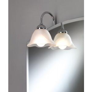 Illed Illuminazione A Telaio/Nichel Satinato Ip20 220V Max 40W E14 Con Vetro Satinato Capannoli-95T1F_VV-20