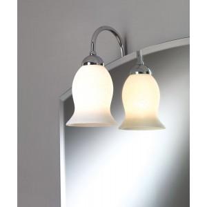 Illed Illuminazione A Telaio/Cromo Ip20 220V Max 40W E14 Con Vetro Scavo Capannoli-95T1S_33-20