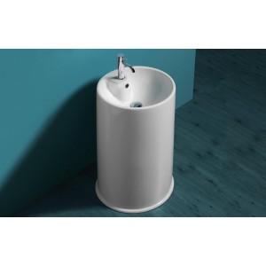 Lavabo GTE Simas cilindrico preforato per foro monoforo-GTE-20