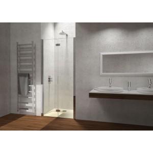 Porta A Soffietto Satinato Dx Trasp 98/102Cm H195-H5EDSTR0-20