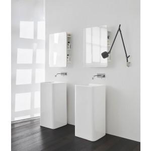 Semplice Free-Stand. A Pavimento Lavabo 40X40X85H Colorato-NIC.001_373-20