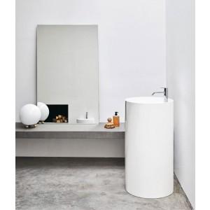 Lavabo Ovvio Freestanding C/F Sc.Pavimento 45X85H Colorato-NIC.001_452-20