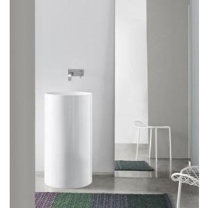 Lavabo Ovvio Freestanding S/F Sc. A Parete 45X85H Colorato-NIC.001_455-20