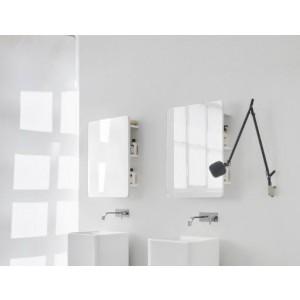 Specchio retro illuminato con led Faggio Decapato-NIC.012_394-20