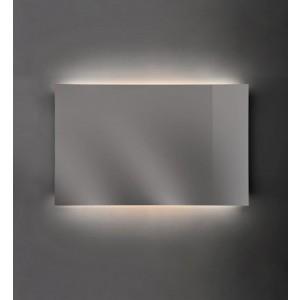 Specchio Raggio filolucido su struttura in acciaio 75X90-NIC.012_617-20