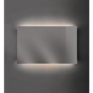 Specchio Riflesso filo lucido su struttura in acciaio 75X75-NIC.012_629-20
