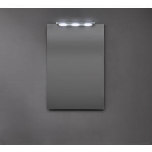Specchio Shadow filo lucido su struttura in acciaio 75X75-NIC.012_643-20