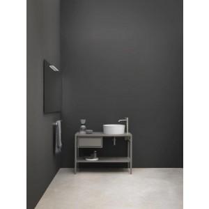 Composizione C/Cass Sx Top In Ceramica Vasca Dx 105X48X12H Colorato-NIC.019_401-20