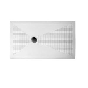 Piatto doccia rettangolare UP Plus-Ton Sferette 80X100 cm H3 + piletta scarico incluso-UPC810-20