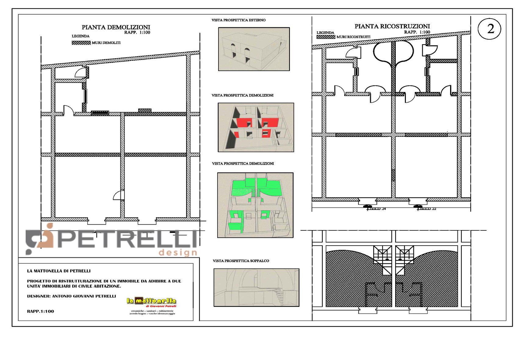 RistRutturatION 2 - Interior - 2 -PetrelliDesig