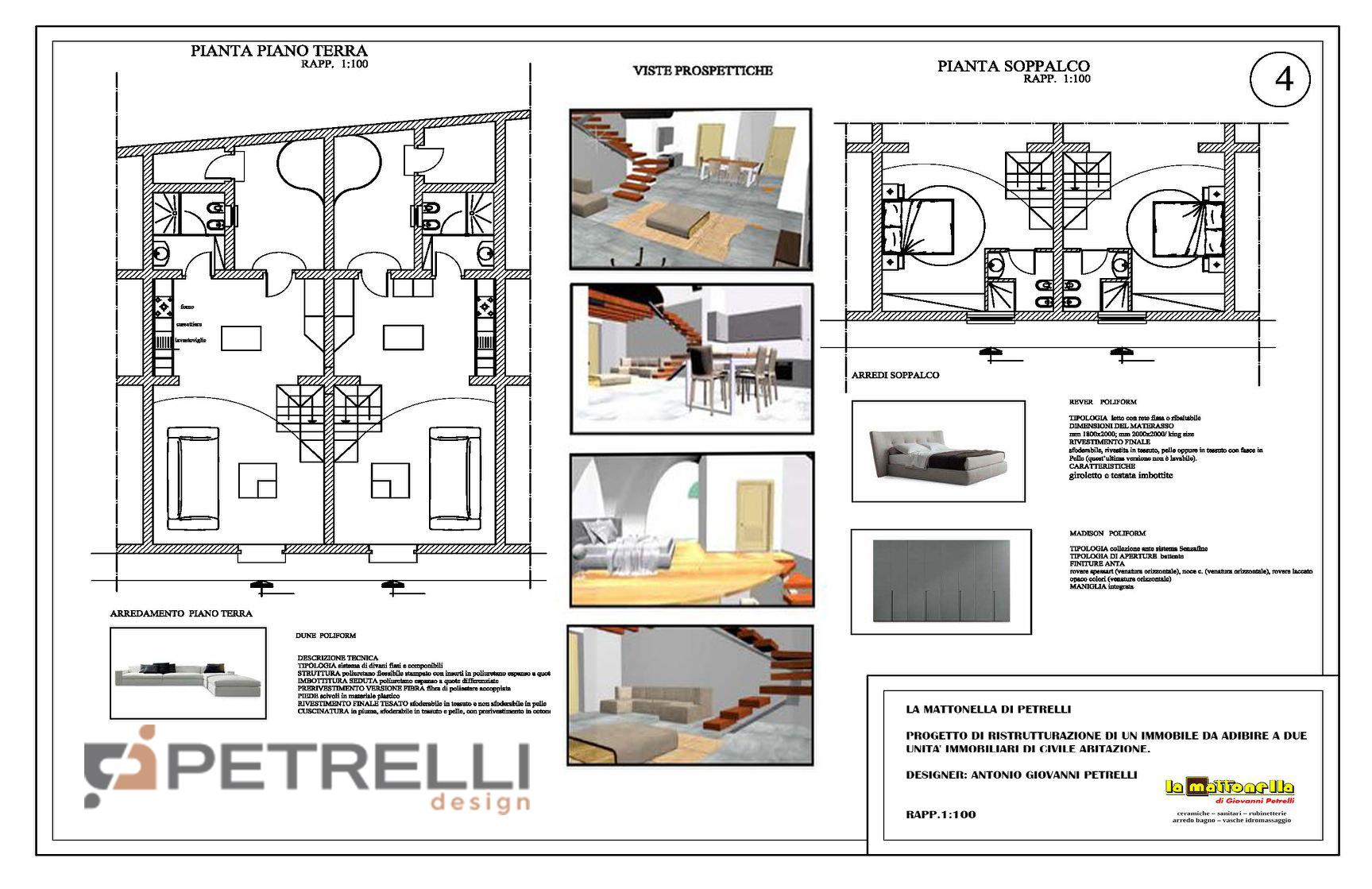 RistRutturatION 2 - Interior - 3 -PetrelliDesig